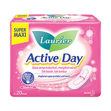 Laurier Cleanfresh Perfume Pantyliner 20 Pcs kao indonesia laurier active day maxi 20