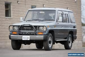 Toyota Land Cruiser For Sale Photos 1990 Toyota Land Cruiser For Sale In Canada