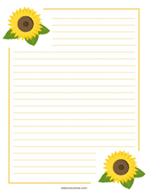 printable nature stationery free nature stationery and writing paper