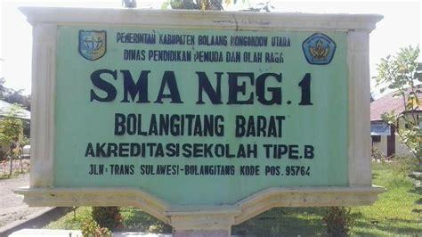 Lu Sorot Papan Nama sma negeri 1 bolangitang barat bahasa