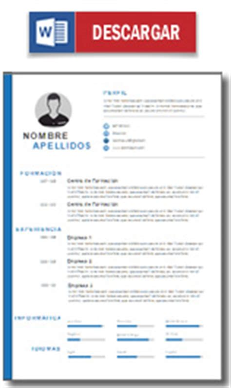 Plantilla De Curriculum Informatico Plantilla Curriculum Vitae Ejemplo Cv Hacer Un Curriculum Modelo Cv