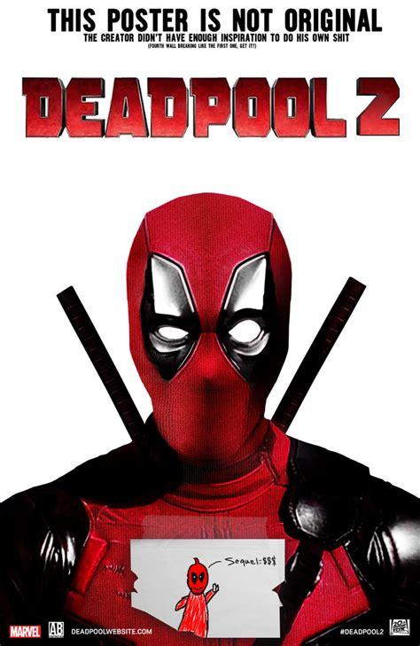 deadpool 2 poster deadpool 2 poster by artbasement on deviantart