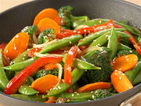 vegetables meals stir fried vegetables with basil and chilli recipes