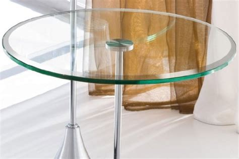 24 quot glass table top 3 8 quot thick beveled edge