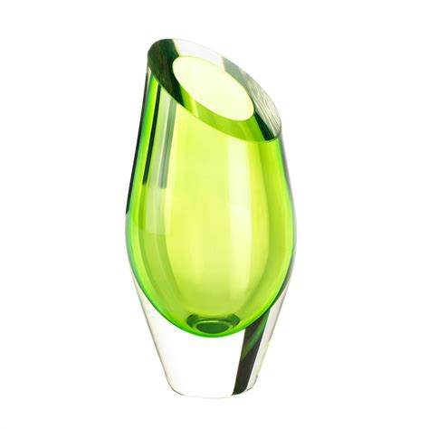 wholesale green cut glass vase buy wholesale vases