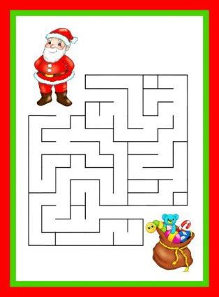 educational christmas games printable christmas games for children weneedfun