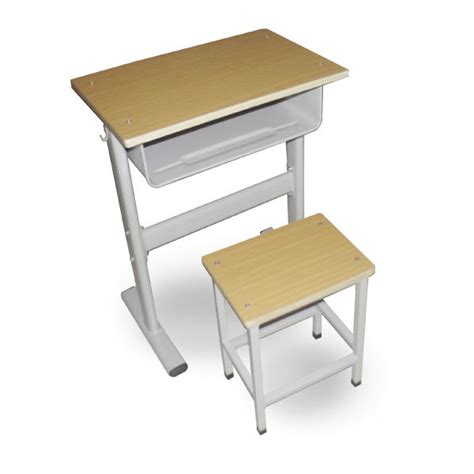 Durable Metal College Classroom Single Person Desk And Buy Student Desk