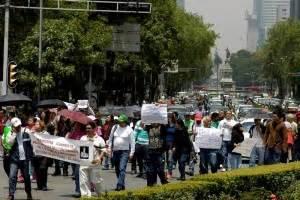 realizarn ajustes al hoy no circula el universal el universal df caravana concluye protesta contra el