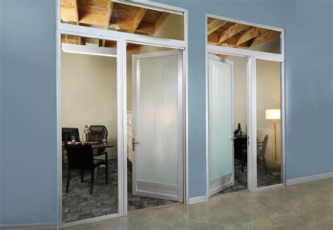 office doors with glass swing doors glass swing doors spaceplus llc