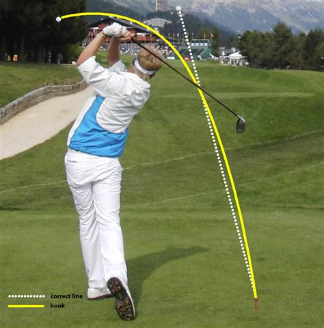 The Golf Swing - golf swing tips 2 how to cure a hook golfmagic