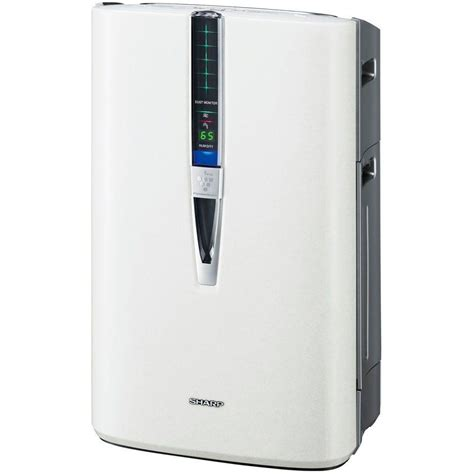 sharp plasmacluster air purifier with humidifying function kc 860u the home depot