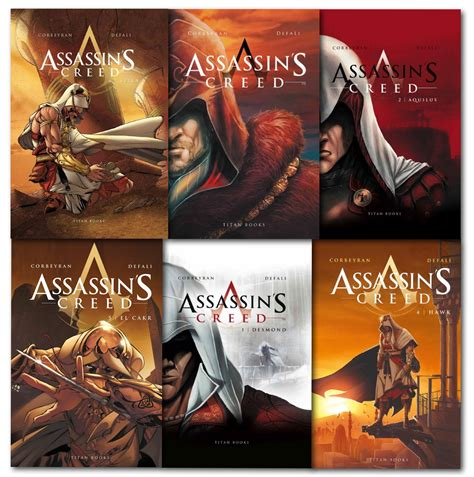 100 Original Assassins Creed Book5 Revelation Oliver Bowden assassins creed 6 books collection set desmond aquilus accipiter hawk el cak ebay