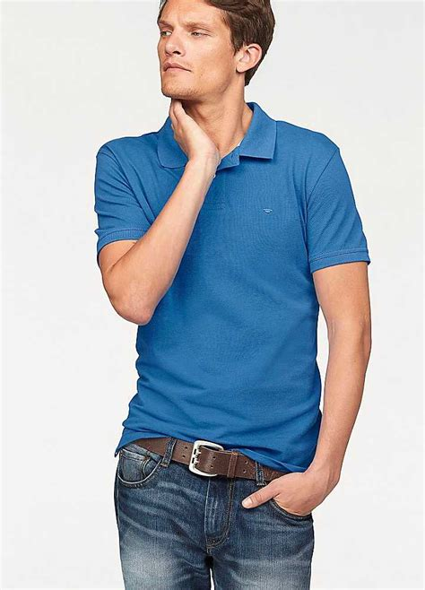 Tom Tailor by Tom Tailor Blue Polo Shirt Swimwear365