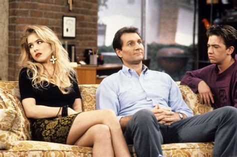 Bud Bundy Is Dunzo With His Marriage by How Do They Look Now Tv Set Quot Married With Children Quot After