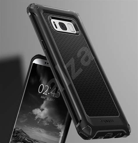 Spigen Rugged Armor Cover Casing Samsung Galaxy S8 Plus spigen rugged armor black samsung galaxy s8 protective alzashop