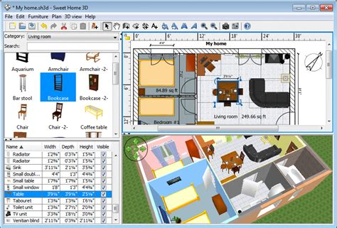 free 3d home design software uk home design software sweet home 3d shah