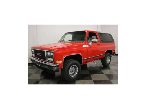 gmc jimmy 1989 1989 gmc jimmy for sale classiccars com cc 1088287