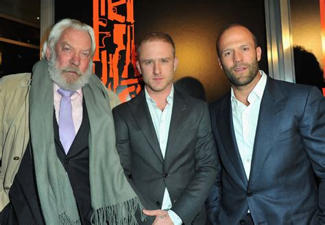 film jason statham donald sutherland jason statham photos photos premiere of cbs films quot the
