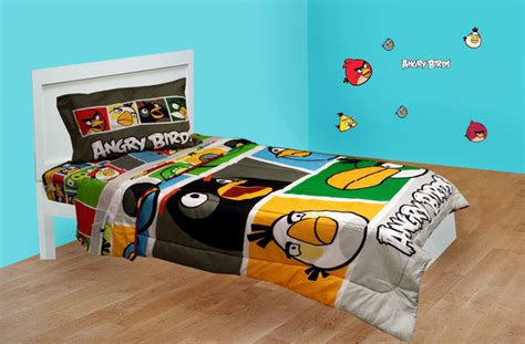 angry birds bedroom decor angry birds bedding and room decorations modern