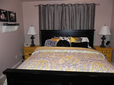 Yellow And Gray Home Decor Gray And Yellow Bedroom Decor Peenmedia