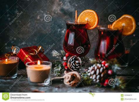 new year oranges tradition mulled wine stock photo image of