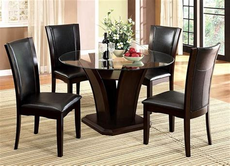 glass top dining room table and chairs best 25 glass dining table set ideas on pinterest glass