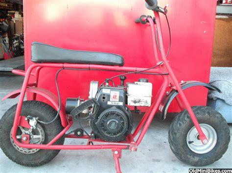 doodle bug mini bike hydraulic brakes doodlebug