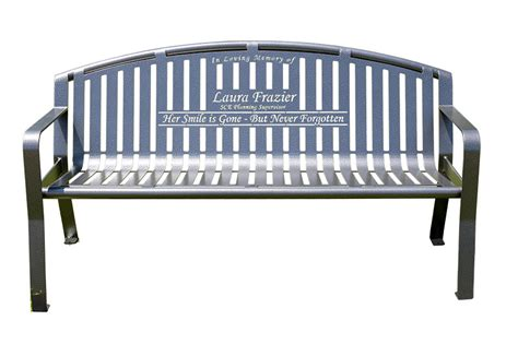 memorial benches for sale smith steelworks