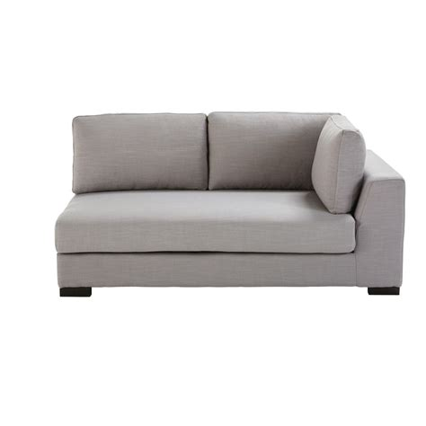 divano letto componibile divano letto componibile con bracciolo destro grigio
