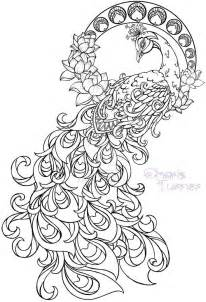 peacock coloring pages for adults realistic peacock coloring pages free coloring page
