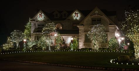 holiday decorations christmas lights installation new jersey