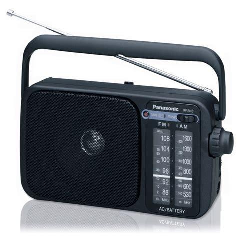 Am Fm Radio portable am fm radio panasonic rf 2400eg9 k