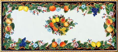 piastrelle pietra lavica ceramiche vietri it tavoli in pietra lavica maiolicata