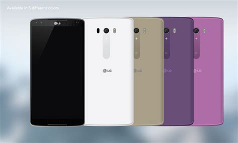 lg g4 lg g4 gets fresh 2w speakers upfront touchpad at the back