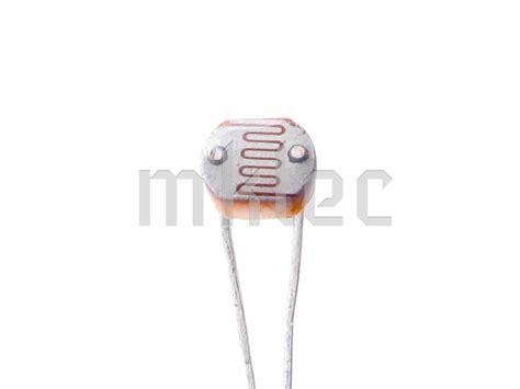 ldr and resistor gl5516 ldr light dependent resistor