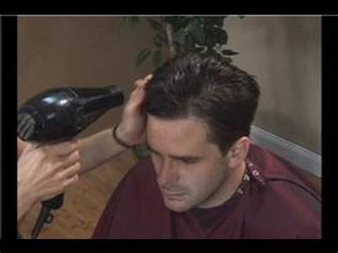 Haircuts for Men : Haircuts for Men: Blow Drying   YouTube