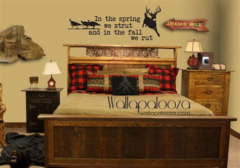 Deer And Turkey Hunter Vinyl Wall Art Decal By | deer and turkey wall decal nursery wall decal hunting wall