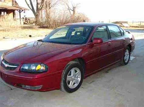 buy used 2005 chevy impala ls 4 door sedan 3 8l v6 only 82 000 miles in maryville
