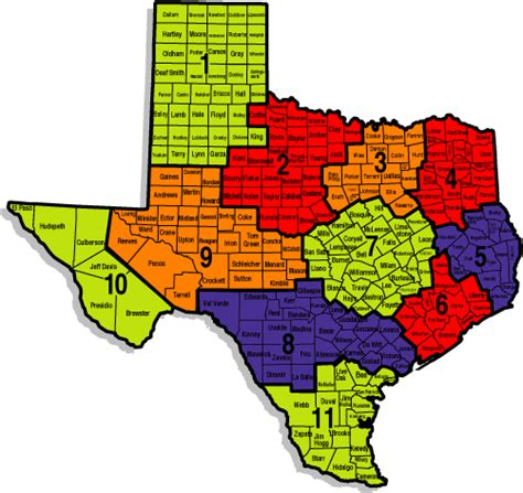 map of texas showing counties counties of texas