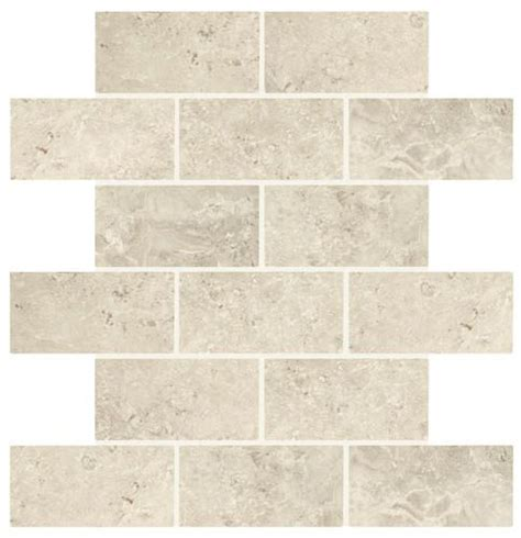 1 X 2 Brick Joint Floor Tile by Marble Creek Smoke Brick Joint Mosaic 2 Quot X 4 Quot Kitchen