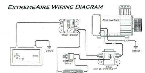 air compressor pressure switch wiring diagram wiring