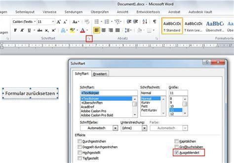 Word Vorlage Zurücksetzen Word Activex Button Nicht Drucken