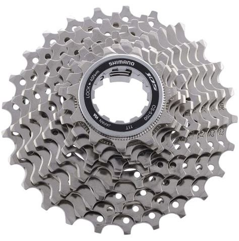 cassette shimano shimano 105 5700 10 speed road cassette chain reaction