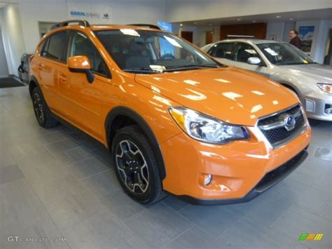 subaru orange crosstrek 2014 tangerine orange pearl subaru xv crosstrek 2 0i