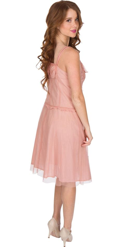 lovea dress soft pink age of nataya al 216 dress in soft pink