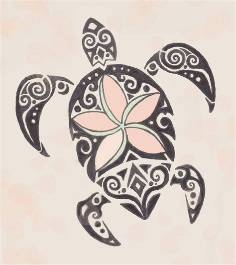 what to put on a tattoo custom tribal turtle to put on my calf