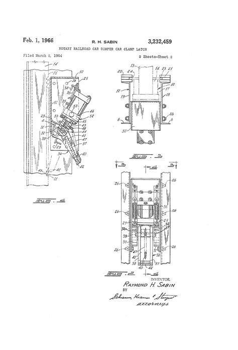 Mcdowell Wellman Rotary Car Dumper by Patent Us3232459 Rotary Railroad Car Dumper Car Cl