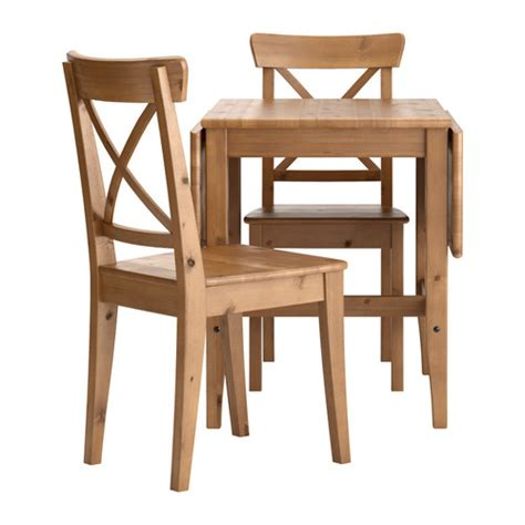 Two Chair Table by Blitherblitherwither Leksvik Ingolf Table And 2 Chairs