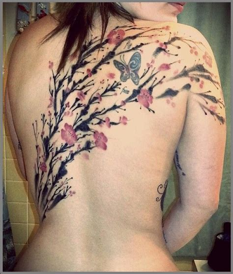 colorful cherry blossom tattoo designs best tattoo 2016