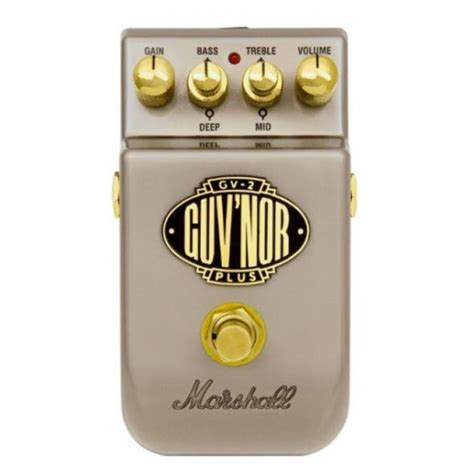 Harga Stompbox jual marshall gv 2 guv nor plus effects pedal